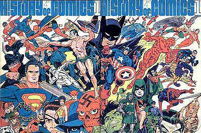 the history and growth of comic books From the beginning, the founders of the show set out to include not only the  comic books they loved , but also other aspects of the popular arts that they  enjoyed.